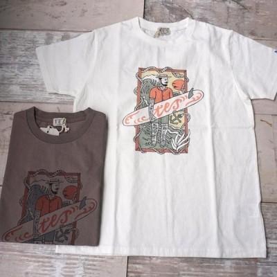 TES VINTAGE MALIBU STAR TEE(カリフォルニア テス 半袖 Tシャツ カットソー ザ・エンドレスサマー THE ENDLESS SUMMER)