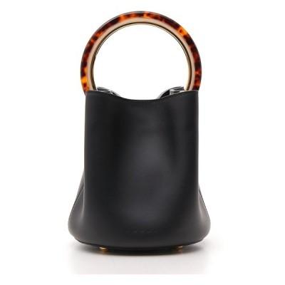 マルニ レディース トートバッグ バッグ Marni Pannier Bucket Bag -