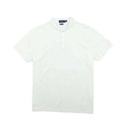 ポロ ラルフローレン POLO RALPH LAUREN メンズ Men's 半袖 ポロシャツ Custom Slim Stretch Mesh Polo ホワイト White