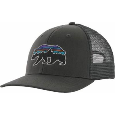 パタゴニア メンズ 帽子 アクセサリー Patagonia Fitz Roy Bear Trucker Hat Forge Grey