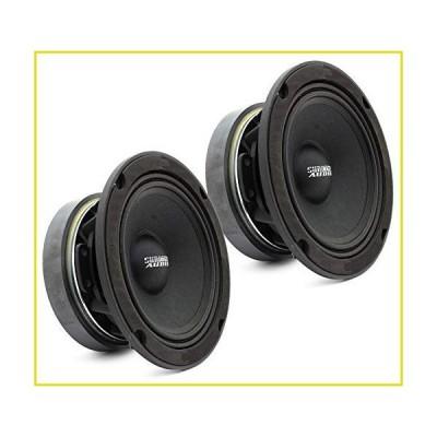 """送料無料 カースピーカー Sundown Audio SXMP-6.5 8-OHM 200 Watts RMS 6.5"""" 8 Ohm Midrange Speakers (Pair)"""
