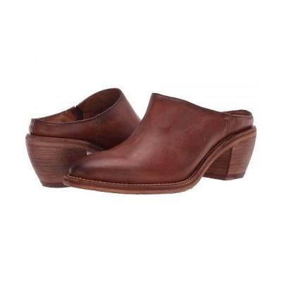 Frye フライ レディース 女性用 シューズ 靴 ヒール Rosalia Mule - Caramel Antique Pull Up