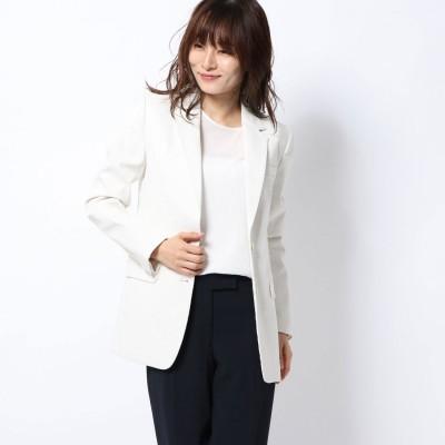 リネーム Rename 袖口デザインテーラードジャケット (オフホワイト)