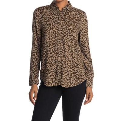 ビーチランチラウンジ) レディース シャツ トップス Alana Button Front Tunic Shirt ANIMAL