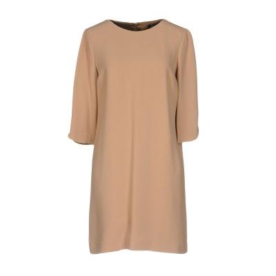 ビブロス BYBLOS ミニワンピース&ドレス キャメル 42 レーヨン 53% / アセテート 47% ミニワンピース&ドレス
