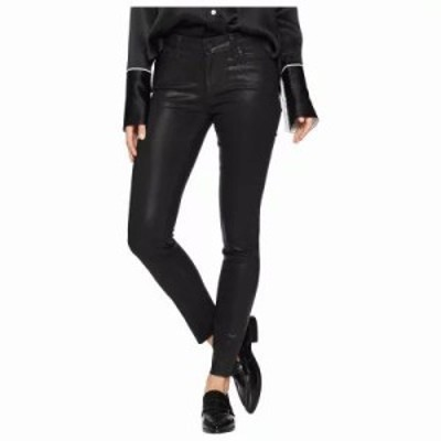 ペイジ ジーンズ・デニム Verdugo Ankle w/ Raw Hem in Black Fog Luxe Coating Black Fog Luxe Coating