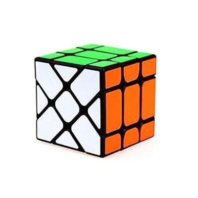 CuberSpeedCuberSpeed New Yongjun Yileng Black magic cube with half bright s