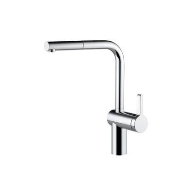 CERA KW0231103T キッチン用湯水混合栓(スパウト引出しタイプ・クロム) Livello セラトレーディング CERA_直送品1_(セラトレーディング)