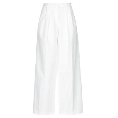テーラ TELA パンツ ホワイト 42 コットン 97% / ポリウレタン 3% パンツ