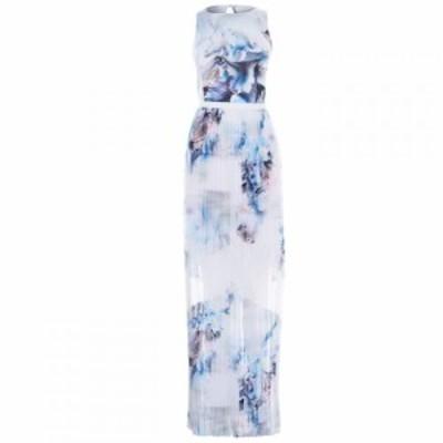 リトル ミストレス Little Mistress レディース ワンピース ワンピース・ドレス Little Lace Maxi Dress Cream Multi