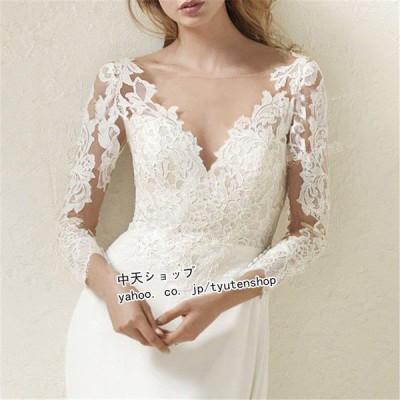 ウェディングドレス 花嫁ドレス パーティードレス イブニングドレス お呼ばれ 結婚式 披露宴 プリンセスドレス 白ドレス 花嫁 大きいサイズ きれいめ 着痩せ