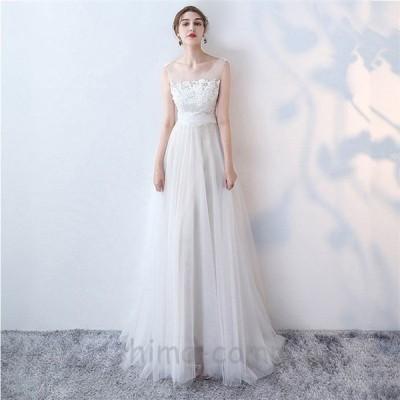 ウエディングドレス   大きいサイズ結婚式  花嫁  二次会ドレス  軽量/海外挙式  ウェディングドレス パーティードレス ファスナードレス