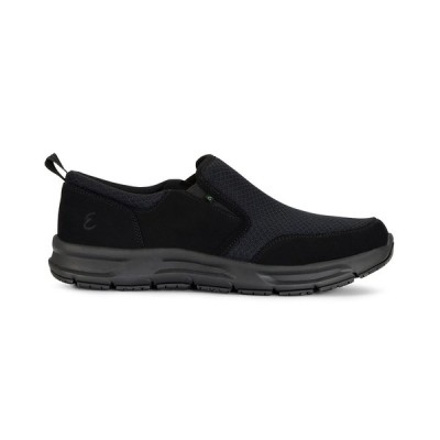 エメリルラガッセ スニーカー シューズ レディース Emeril Lagasse Women's Quarter Slip On Slip-Resistant Sneakers Black Mesh/Nubuck
