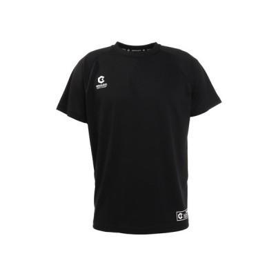 ジローム(GIRAUDM) 洗っても機能が続く UVカット 速乾 UV 吸汗速乾 半袖メッシュTシャツ 863GM1CD6670 BLK (メンズ)