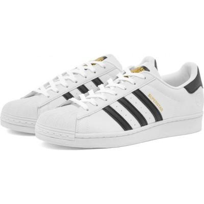 アディダス Adidas メンズ スニーカー シューズ・靴 superstar vegan White/Black/Green