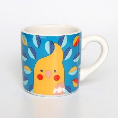 【KOTORITACHI】鳥顔マグカップ(オカメインコ)