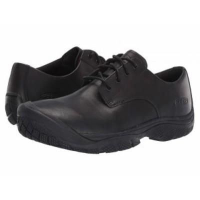 Keen キーン メンズ 男性用 シューズ 靴 スニーカー 運動靴 Soft Toe Kanteen Oxford Black/Black【送料無料】
