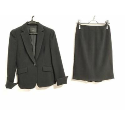 アイシービー ICB スカートスーツ サイズ7 S レディース - 黒【中古】20201229