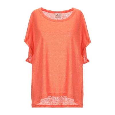 MÊME ROAD T シャツ オレンジ 40 リネン 100% T シャツ