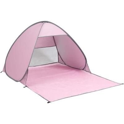 roomnhome(ルームアンドホーム) テント ミニ ワンタッチ M + CAMP ピンク 150×200×110cm