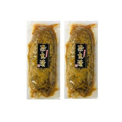 吉本 国産 奈良漬1舟(約280g)×2袋セット【送料込み】(0)