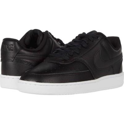 ナイキ Nike レディース スニーカー シューズ・靴 Court Vision Low Black/Black/White