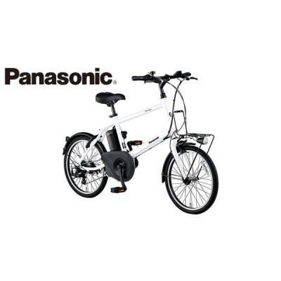 電動自転車 Panasonic パナソニック 2021年モデル ELVS073 ベロスターミニ