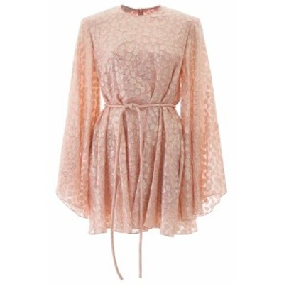 STELLA MCCARTNEY/ステラ マッカートニー ドレス BALLET PINK Stella mccartney mini dress with lame embroideries レディース 春夏2020