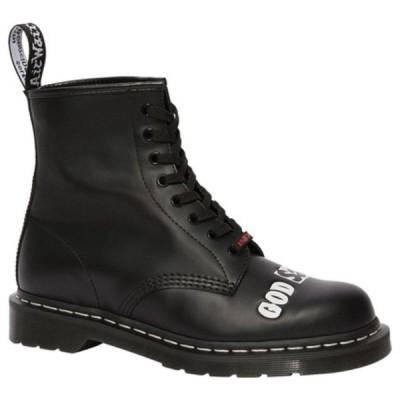 ドクターマーチン レディース ブーツ&レインブーツ シューズ 1460 Sex Pistols Mid Calf Boot Black Rolled Smooth Leather