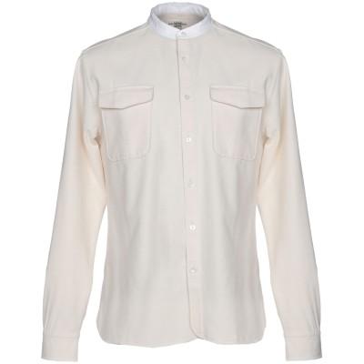 KENT & CURWEN シャツ アイボリー S 100% コットン シャツ