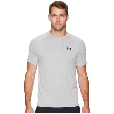 アンダーアーマー Under Armour メンズ Tシャツ トップス UA Tech Short Sleeve Tee Steel Light Heather/Black
