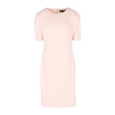 LAUREN RALPH LAUREN ミニワンピース&ドレス ライトピンク 4 ポリエステル 94% / ポリウレタン 6% ミニワンピース&ドレス