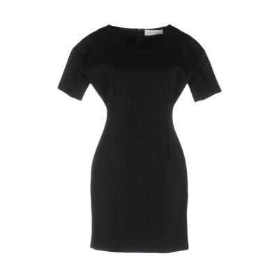 ASH STUDIO PARIS ミニワンピース&ドレス ブラック 40 ポリエステル 91% / ポリウレタン 9% ミニワンピース&ドレス