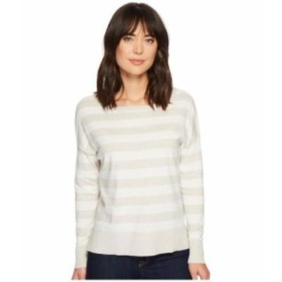 NYDJ エヌワイディージェー 服 スウェット Long Sleeve Striped Sweater