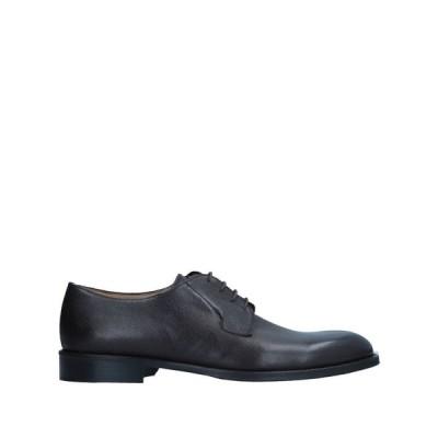 アレクサンダートレンド ALEXANDER TREND メンズ シューズ・靴 laced shoes Black