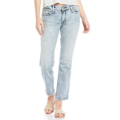 シルバー ジーンズ レディース デニムパンツ ボトムス Elyse Slim Mid Rise Jeans