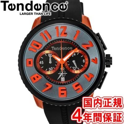 777円クーポン有り!テンデンス 腕時計 アルテックガリバー 50mm クロノ メンズ レディース ブラック/オレンジ TY146003