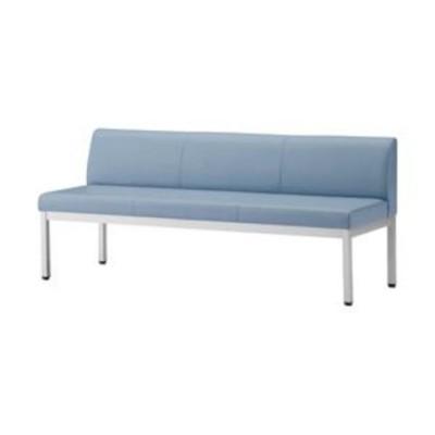 アイリスチトセ ロビーチェア 背付 ブルー 型番:CLB-1553-BL 1台 生活用品 インテリア 雑貨 オフィス家具 [▲][TP]