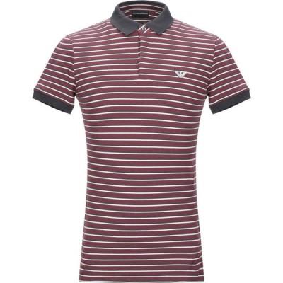アルマーニ EMPORIO ARMANI メンズ ポロシャツ トップス polo shirt Deep purple