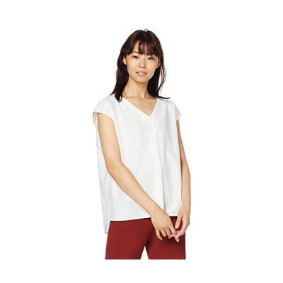 [プロポーションボディドレッシング] ブラウス フレンチスリーブシャツブラウス レディース 121-9210507 ホワイト 日本 3 (日本サイズL