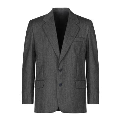 MAXS HONORATI テーラードジャケット スチールグレー 48 バージンウール 100% テーラードジャケット