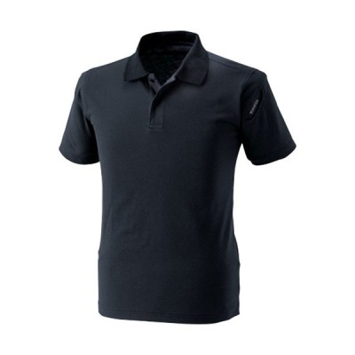 ティーエスデザイン(TS DESIGN) メンズ レディース ESショートスリーブ ポロシャツ 95/ブラック サイズ3L〜4L 4065 半袖 トップス 作業着 作業服 ワークウェア