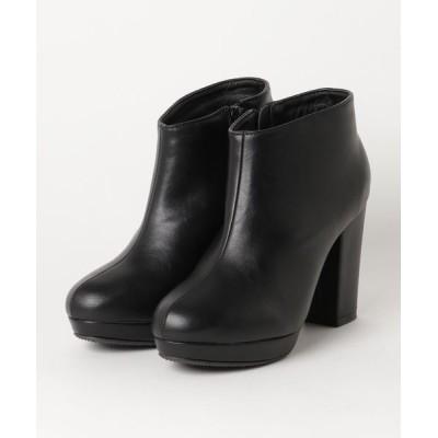 ZealMarket/SFW / 10cmチャンキーヒールストームショートブーティ WOMEN シューズ > ブーツ