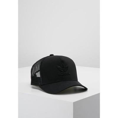 アディダスオリジナルス 帽子 メンズ アクセサリー TRUCKER - Cap - black