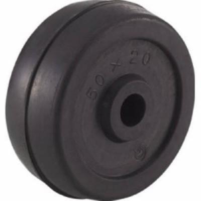 TRUSCO 二輪運搬車用車輪 Φ50ゴム車輪 4011用補助車輪