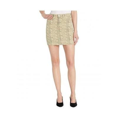AG Adriano Goldschmied アドリアーノゴールドシュミット レディース 女性用 ファッション スカート Vera in Silk Python Fresh Sand - Silk Python Fresh