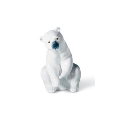 リヤドロ 白クマ RESTING POLAR BEAR  01001208 LLADRO 日本未発売 □