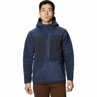 マウンテンハードウェア Mountain Hardwear メンズ フリース フード トップス Southpass Hooded Jacket Zinc