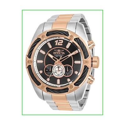 Invicta メンズ ボルトクォーツ腕時計 ステンレススチールストラップ ツートーン 26 (モ