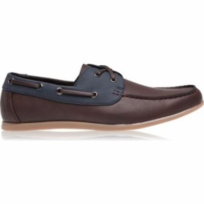 ソビエト Soviet メンズ デッキシューズ シューズ・靴 Classic Boat Shoes Brown/Navy